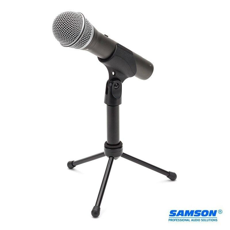 Micro Usb dynamique portable Samson Q2u 100% Original avec port casque XLR micro pour radio de podcasting et vidéos YouTube