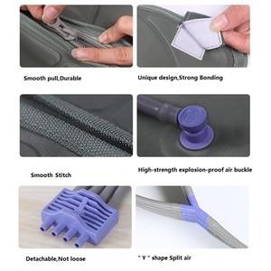 Image 3 - Masseur de Compression dair contrôleur de poche pompe de Circulation sanguine ensemble denveloppe pour Double bras jambe manchette taille Relax Massage