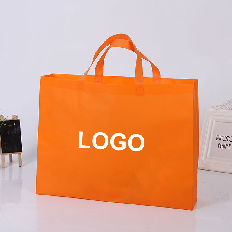 d9426585087 Custom print LOGO gift non woven bag with glossy lamination high quality  Environment Friendly reusable shopping bag for packing