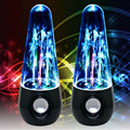 Bluetooth Speakers LED Water Dancing Subwoofer Wireless Mini Portable Speaker Loudspeaker Audio Player USB TF Card