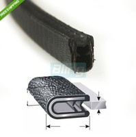 1 16 01 120 In Length Door Guards Protector Trim Molding Sound Proof Car PVC Rubber