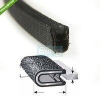 1/16 01 120 in Length Door Guards Protector Trim Molding Sound Proof Car PVC Rubber Lock Seal Edge Trim Pillar Car Accessories
