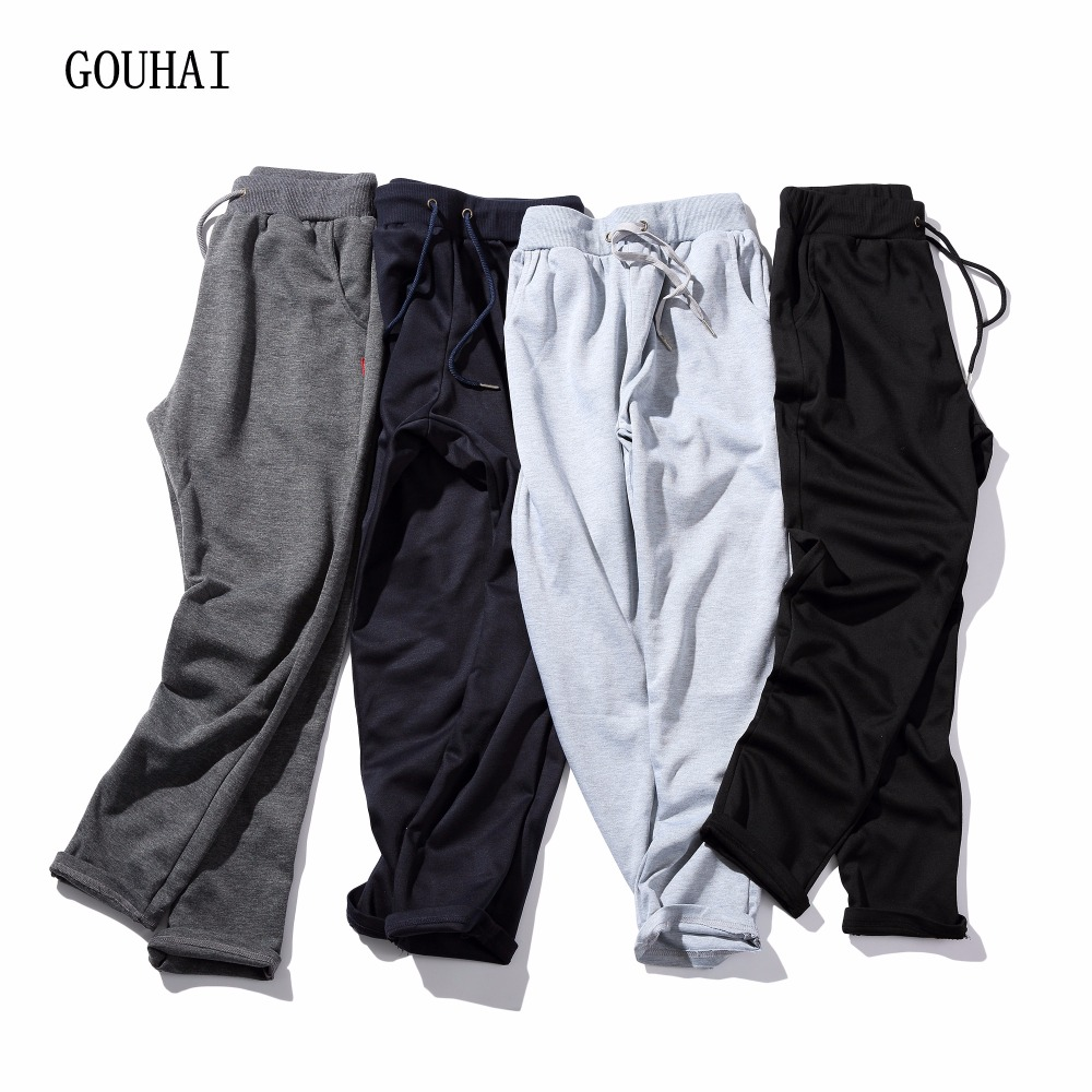 Casual Pants Men 2018 Plus Storlek Solid Mens Joggers Byxor Harem Slim Fit Herr Byxor Byxor Streetwear M-5XL