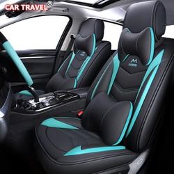 Luxe Lederen auto stoelhoezen voor nissan almera classic g15 n16 juke x-trail t31 t30 qashqai patrol note blad teana terrano