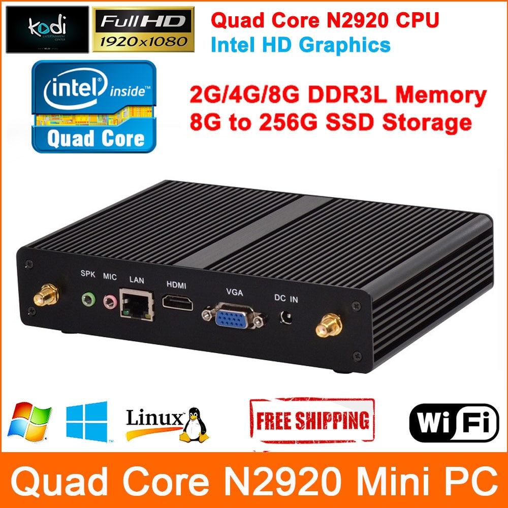 Multi Core Computers : High grade mini computers intel celeron n quad core