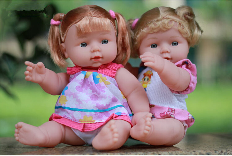 12inches Reborn Baby Doll Soft Vinyl Silicone Lifelike Newborn Baby for Girl Gift Baby Girls font