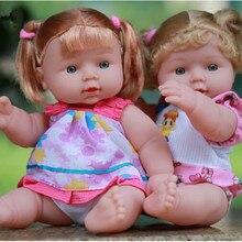 30cm Reborn Baby Doll Soft PVC Lifelike Alive Doll Newborn Baby Doll Christmas Birthday Gif