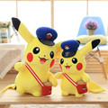 New wear one's hat Pikachu Plush toy doll Soft Toy For Children game Gift Chirstmas gifts Collection free shipping