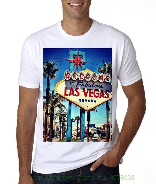 eb949348b Newest 2018 Fashion Stranger Things T Shirt Men New Las Vegas Sign Post T  shirt-in T-Shirts from Men's Clothing & Accessories on Aliexpress.com |  Alibaba ...