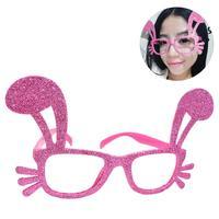 Women Pink Blue Rabbit Shape Flexible Adults Sunglasses Shine Eyewear Shades Infant Polarized Girls Kid Children Safe Sunglasses