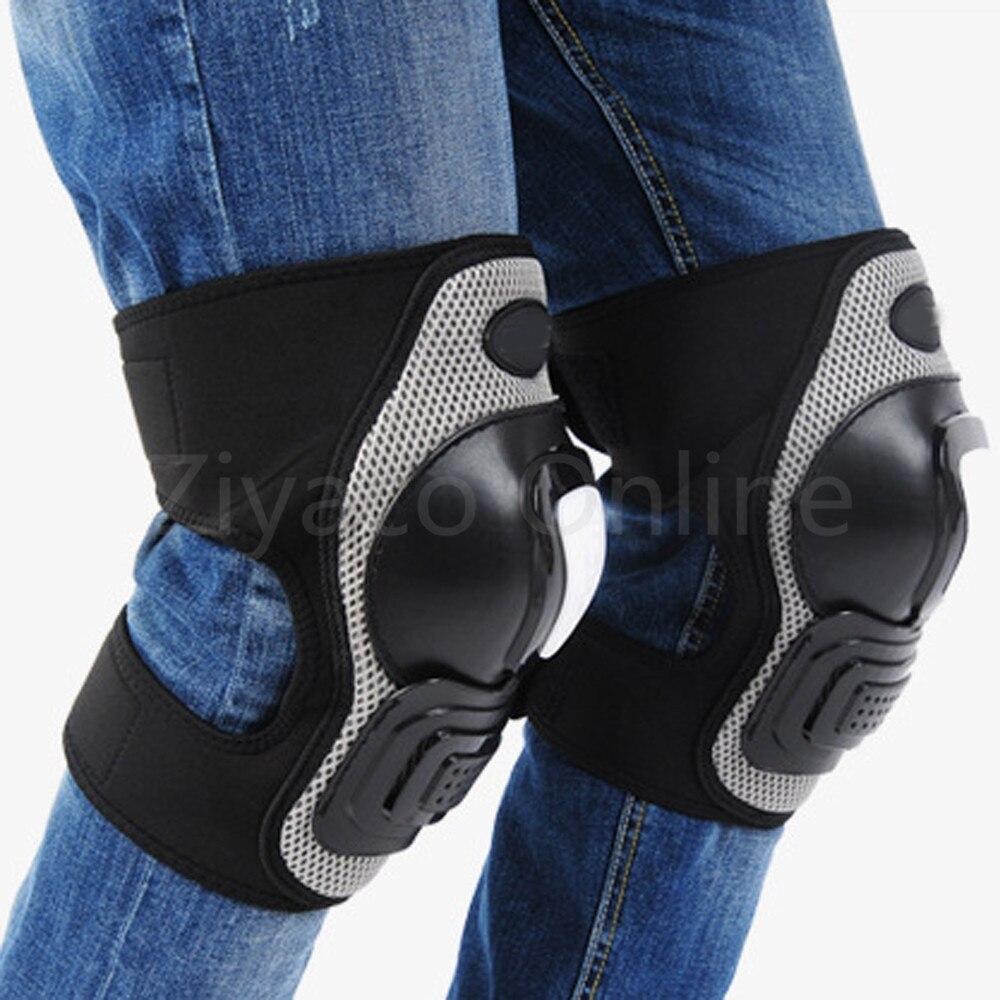 Prix pour Adultes Genou Shin Armor Gear Protector Garde Tapis Protection pour Vélo Moto Vélo Motocross Racing Pad Genouillères