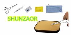 SHUNZAOR Suture Training Kit -medical skin model Simple range suture kit for beginners 6pcs/set