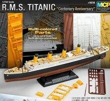 MOHS 1/700 14214 Proces Platen Titanic schip model luxe cruiseschip Vergadering schip Model kits Modle building
