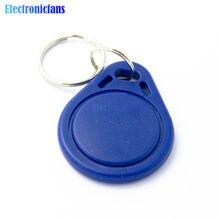 10 adet RFID sensörü yakınlık IC anahtar etiketleri Keyfobs jetonu NFC TAG anahtarlık 13.56MHz Arduino için erişim kontrolü için katılım
