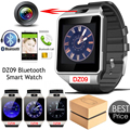 Wearable Devices DZ09 Smart Watch Pedometer Fitness Call Music Wristwatch With SIM Camera Smartwatch For IOS Android Phones