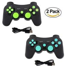K Ishako Bluetooth Điều Khiển Chơi Game Cho PS3 Không Dây Joystick Rung Điều Khiển Từ Xa Dành Cho PlayStation 3 Tay Cầm Tay Chơi Game Cho PS2