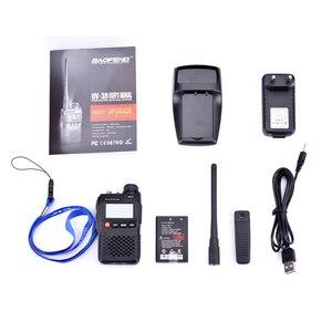 Image 5 - 100% Original Best Price Baofeng UV 3R Mini Walkie Talkie Dual Band VHF UHF Portable UV3R Two Way Radio Ham Hf Transceiver UV 3R