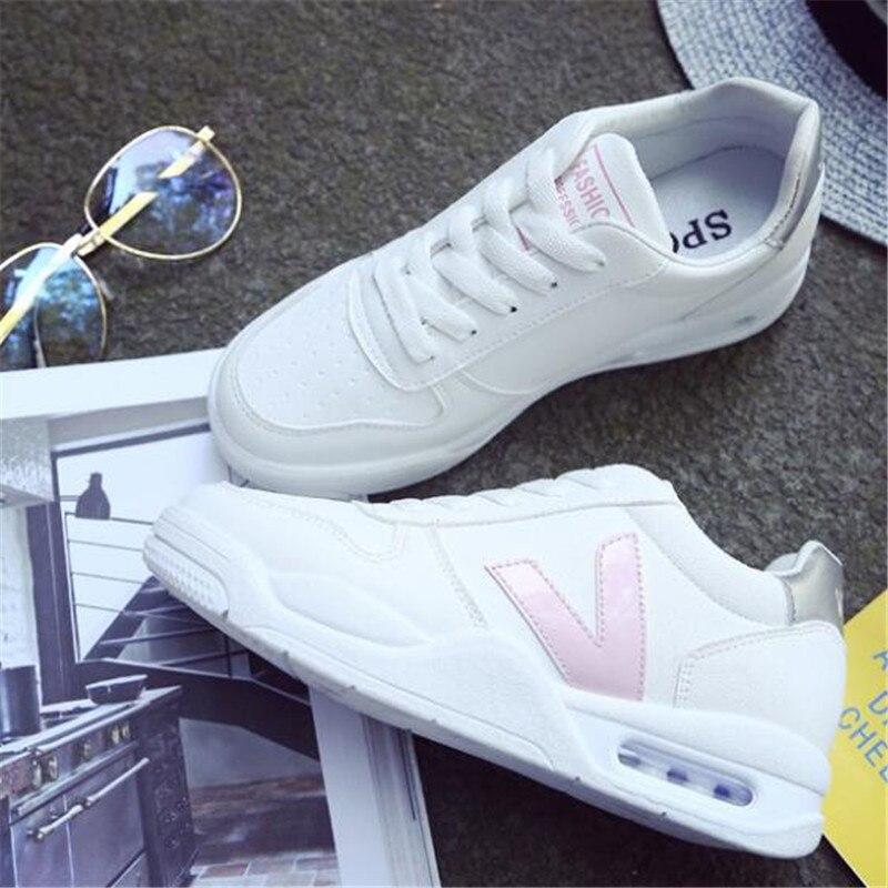 DIWEINI 2019 New Summer White Women Sneakers Fashion Thick Bottom Womens Platform Sneakers Casual Shoes Zapatos De Mujer D8807
