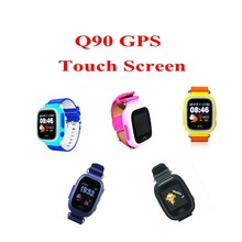 GPS smart watch baby watch Q90 with Wifi touch screen SOS Call Location Tracker Device for Kid Safe Anti-Lost Monitor PK Q80 Q60