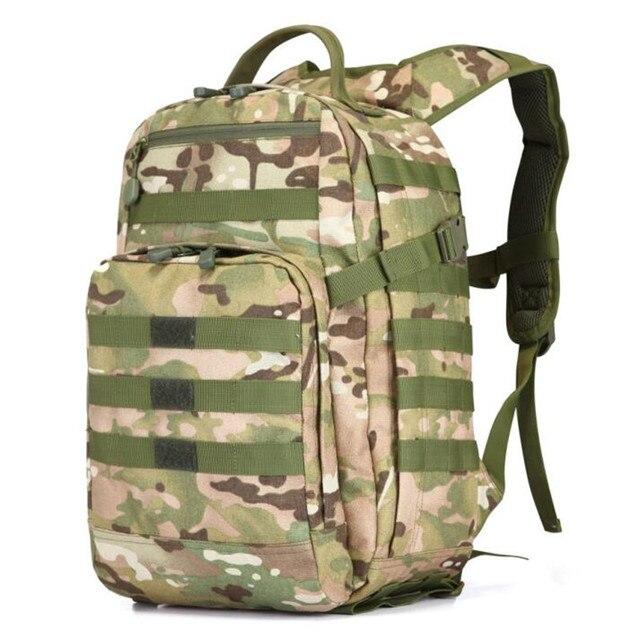 Новинка 2017 1000 г нейлон ткань Оксфорд рюкзак мужской женский 17 дюймов ноутбук сумка 55l военный Путешествия Камуфляж мешок Бесплатная доставка