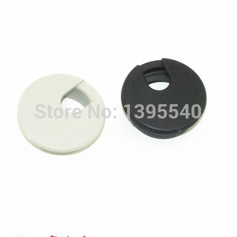 Tidy Desk Grommet Wire Plastic Office Cable Management Hole Cover Swivel