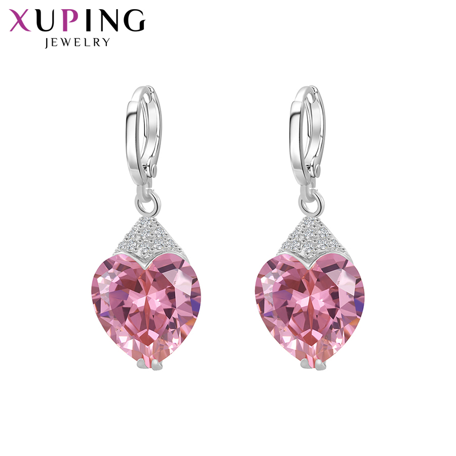 11.11 Deals Xuping Fashion Luxury Earrings for Women Synthetic Cubic Zirconia Eardrops Jewelry Christmas Day Gift S53-27656