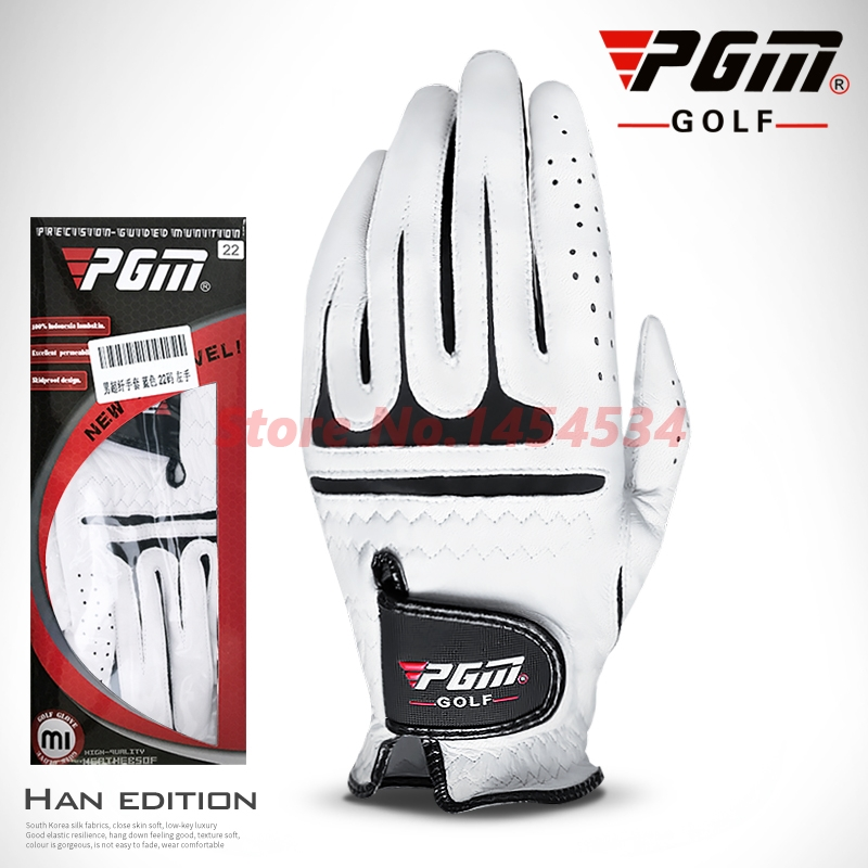Genuine PGM golf glove lambskin men Gloves Left & Right Hand High Quality Golf Sport Glove Soft Breathable Gants De Accessories цены