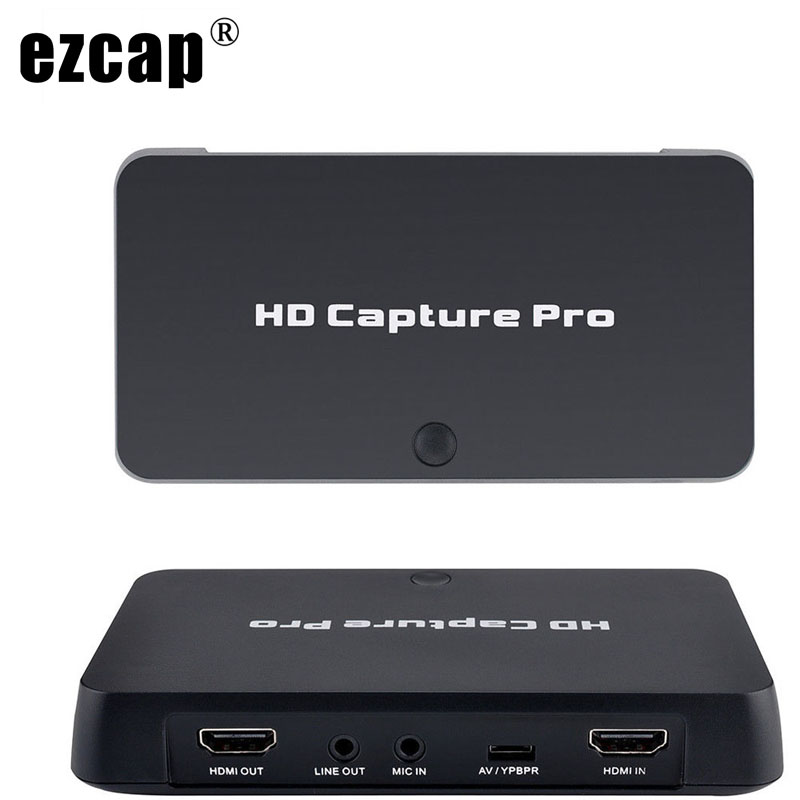 HDMI AV Video Capture Card 1080P Time Scheduled Recording TV Shows Game Record Playback PC Live