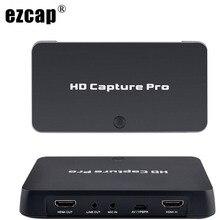 HDMI AV וידאו לכידת כרטיס 1080P זמן מתוכנן הקלטה טלוויזיה מראה משחק שיא השמעת PC לחיות עבור Xbox 360 PS4 ממיר טלוויזיה