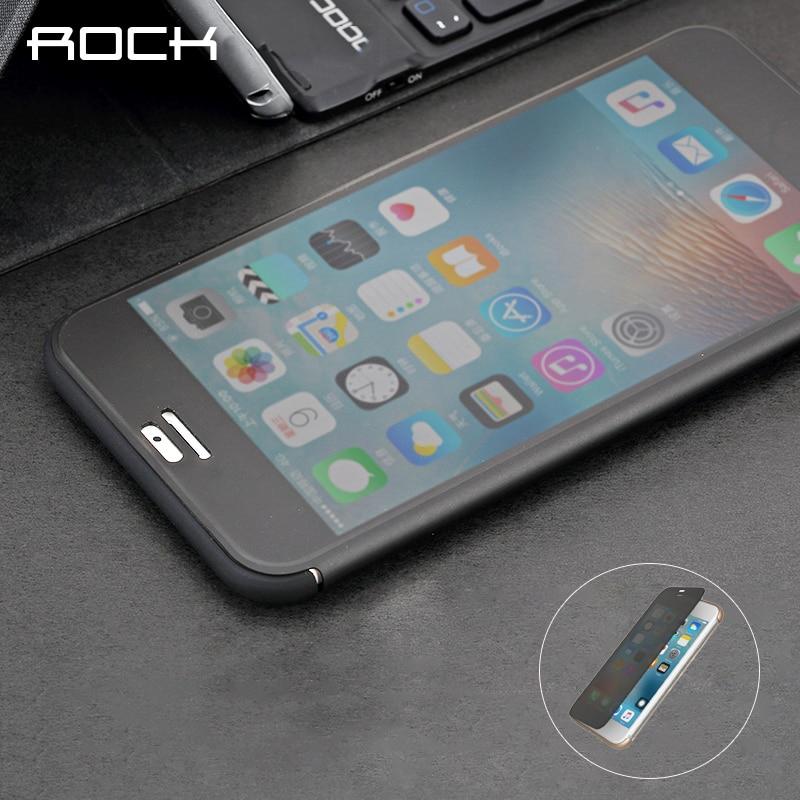 imágenes para Rock dr. v series flip case para iphone7/7 más delgado teléfono case con protección de pantalla completa sin necesidad de abrir para contestar llamada