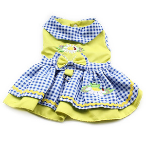 Image 3 - Armi Storeดอกไม้รูปแบบสุนัขชุดเจ้าหญิงชุดสุนัข6071055สัตว์เลี้ยงอุปกรณ์ (ชุด + หมวก + กางเกง + = 1ชุด