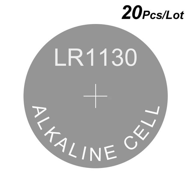 כפתור לחצן אלקליין שעון סוללה AG10 1.5V LR1130 Equivalences 189 389 389A CX189 D189 D389A L1130 L1131 LR1131 LR54 V389