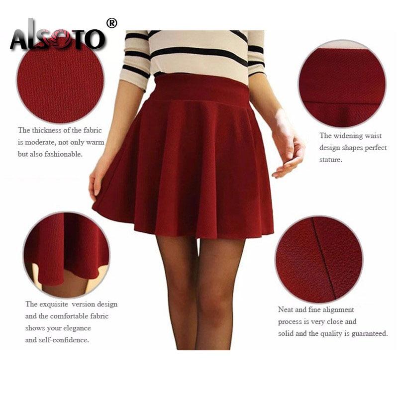 2021 Winter and Summer Style Brand Women Skirt Elastic Faldas Ladies Midi Skirts Sexy Girl Mini Short Skirts Saia Feminina 5