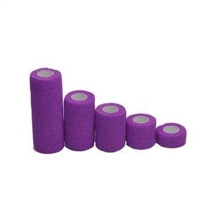 Image 4 - Cinta deportiva de 4,5 m, vendaje elástico autoadhesivo impermeable, cinta muscular para las articulaciones de los dedos, vendaje no tejido cohesivo