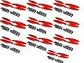 (Red)8045 8X4.5 10Pair EPP Propeller CW/CCW Prop for DJI