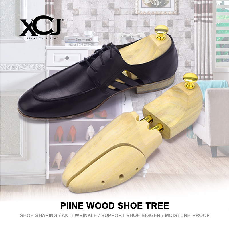 Shoe Tree Wooden For Genuine Leather Shoe Men Shoes Women Shoes Sneakers Stretcher Shaper Keeper Adjustable Width 1 Pair XCJ ...