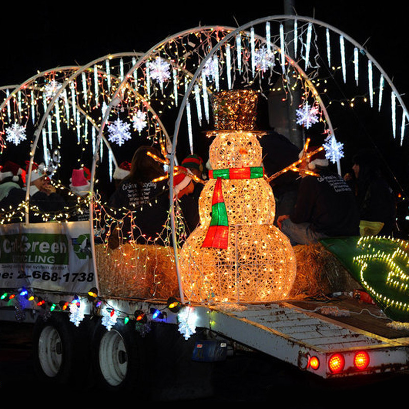 new 50cm cone led meteor shower rain tube christmas lights 72 bulbs 8 tubes outdoor wedding