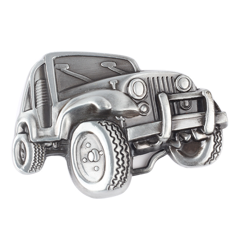 Car And Truck Shaped Belt Buckle
