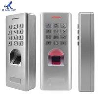 1000 Vingerafdrukken IP66 Waterdichte Vingerafdruk slot herkennen Biometrische Vingerafdruk Reader Wiegand 26 Uitgang deur lock slimme