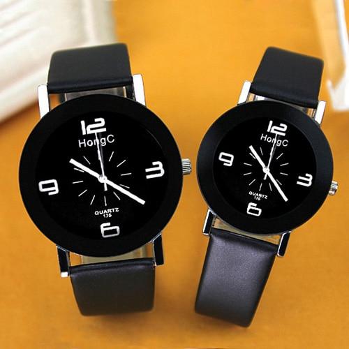 YAZOLE Brand Lovers Watch Women Men Clock Couple Wrist Watches For Love Ladies Female Male Wristwatch Girlfriend Boyfriend Gift