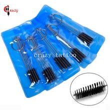 5 Sets 25Pcs Cleaning Brushes Tattoo Machine Grip Tube Tip Cleaning Tools Brushes For Cleaning Airbrush Spray Guns Tubes