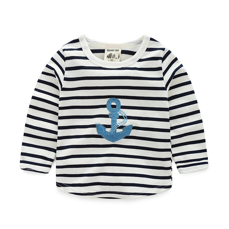 1 6 Age Toddler Boys Long Sleeve Striped T Shirt Spring