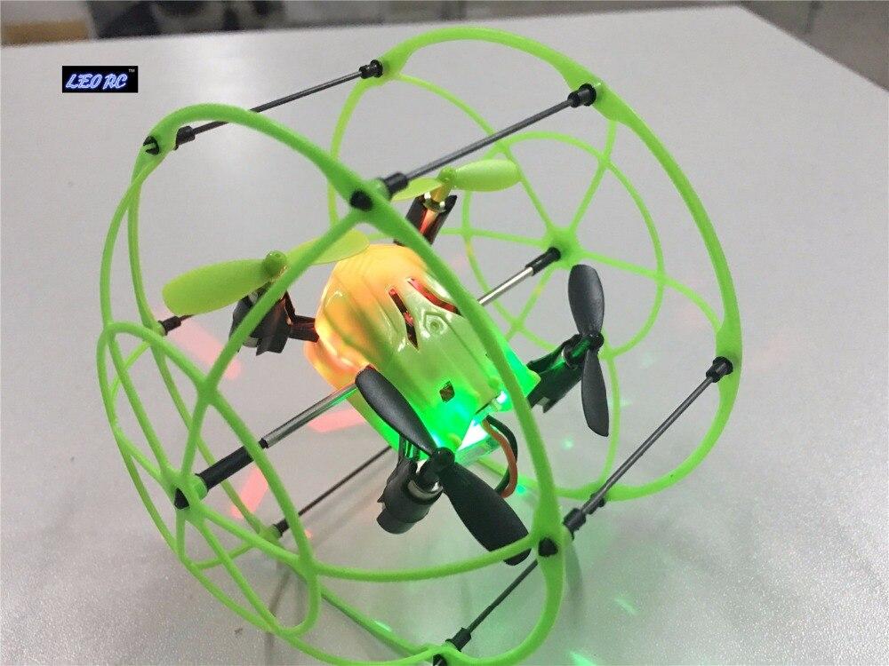 LEO font b RC b font new 2 4Ghz 4ch sky walker wall climbing drone mini