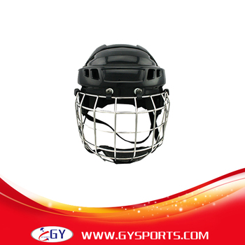 CE approved Free shipping ice hockey player helmet with mask field hockey protection helmet for sale