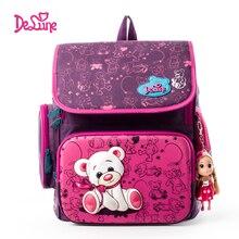 ФОТО 2015girls school backpack winner purple durable backpack hot sale