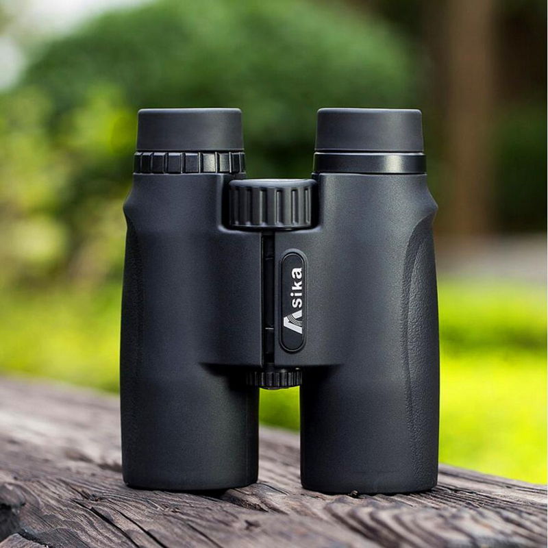 Asika 10x42 High quality Binoculars HD Professional Military Telescope lll Night Vision Binocular For Bird watching