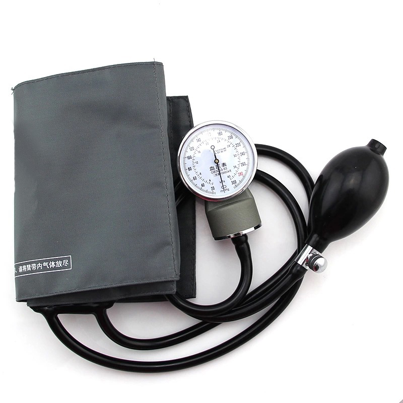 Tonometer Aneroid Sphygmomanometer Measure Device Home Use Blood Pressure Manual Watches Meter Arm Tool Health Therapy Care