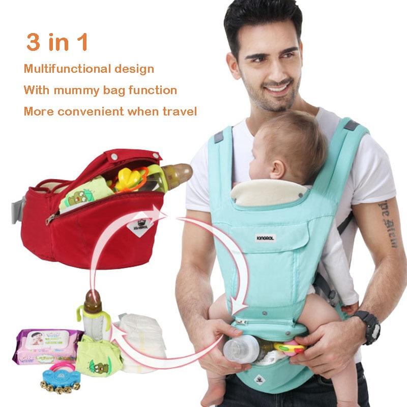 Bébé Ergonomique Siège Pour Hanche Hipseat Transporteur Enfant Respirant  Toile Sac À Dos En Coton Infantile c387b7b06dd