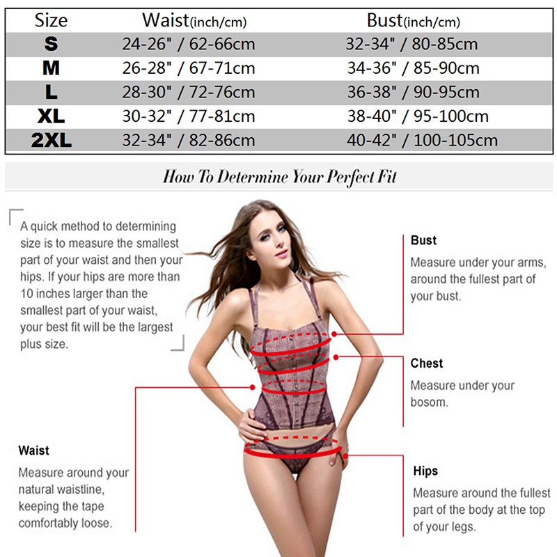 S-2XL-Universal Size-Overbust and Underbust
