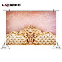 Laeacco Background For Photography Bed Headboard Newborn Baby Vinyl Backdrops For Photo Studio Props Bedhead Children Home Decor(China)